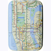 NYC Subway Tin Box w/ Playing Cards