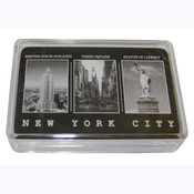 NYC Black & White Pictures Playing Cards
