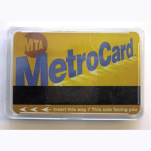6105c962e Metrocard Playing Cards Photo. Loading zoom