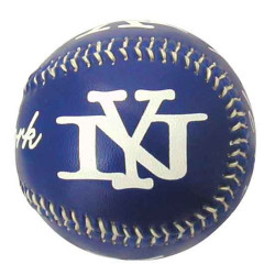 New York Blue Baseball Photo