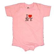 I Love NY Pink Onesie