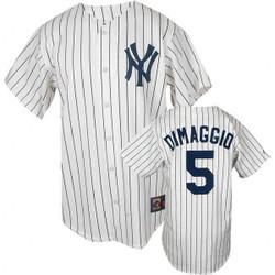 Joe DiMaggio Cooperstown Replica Jersey Photo