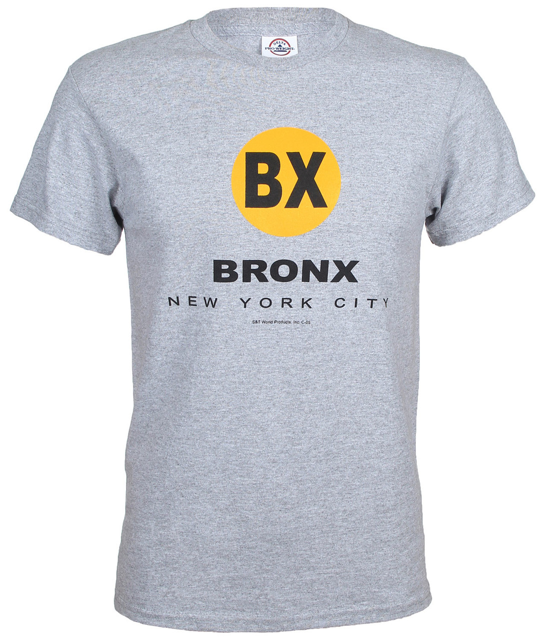 "New York City Bronx ""BX"" Ash Tee photo"