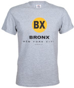 "New York City Bronx ""BX"" Ash Tee"