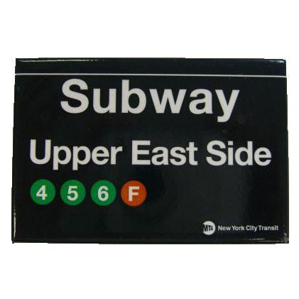 Upper East Side Subway Magnet photo