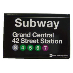 Grand Central Subway Magnet Photo
