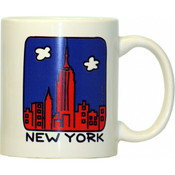 "NYC ""Cartoon Skyline"" 11oz. Mug"
