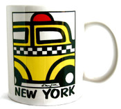 "NYC ""Cartoon Taxi"" 11oz. Mug"