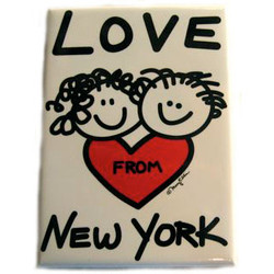 Love From New York Magnet Photo