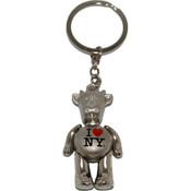 I Love NY Cow Keychain