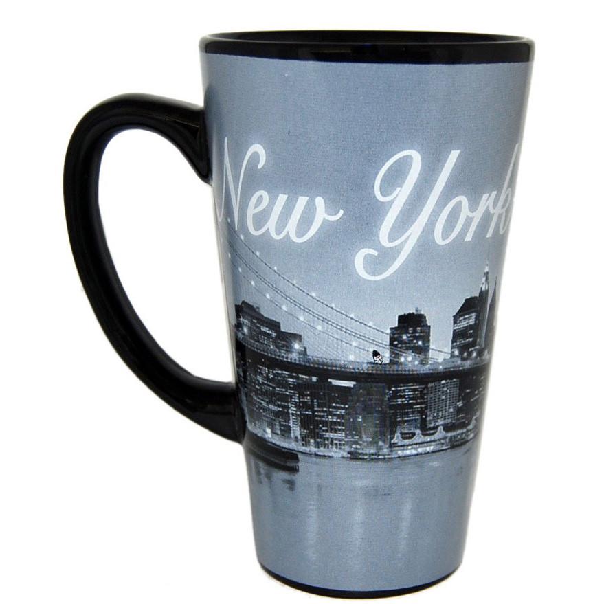 I Love NY At Night Java Mug photo