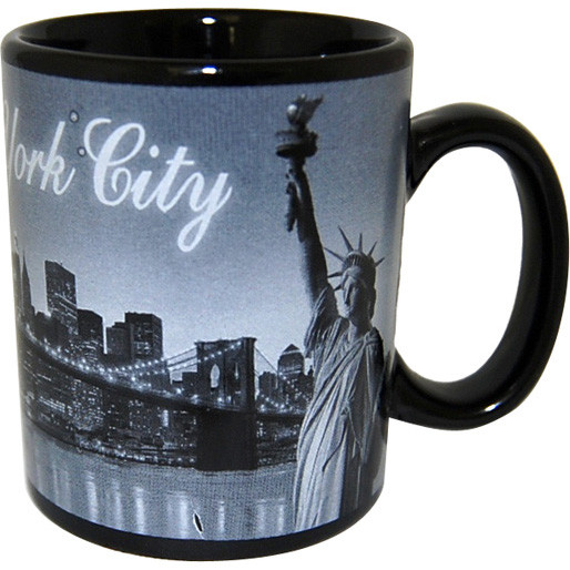I Love NY At Night 4oz. Mini Mug photo