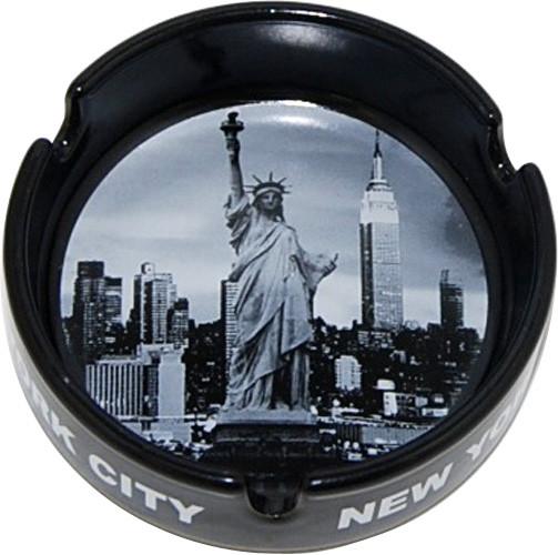 New York City Skyline Photo Ashtray photo