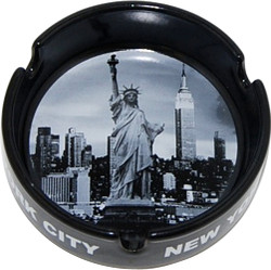 New York City Skyline Photo Ashtray Photo