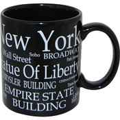 "NYC ""White Letters"" 11oz Mug"