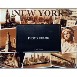 NYC Sepia Photos 4x6 Picture Frame Photo