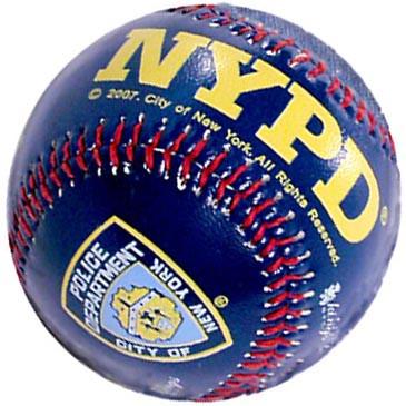 NY Police Dept Navy Baseball photo