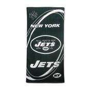 """NY Jets """"Hurricane"""" Beach Towel"""
