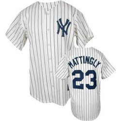 great fit 6633a 9c640 Don Mattingly Cooperstown Replica Jersey