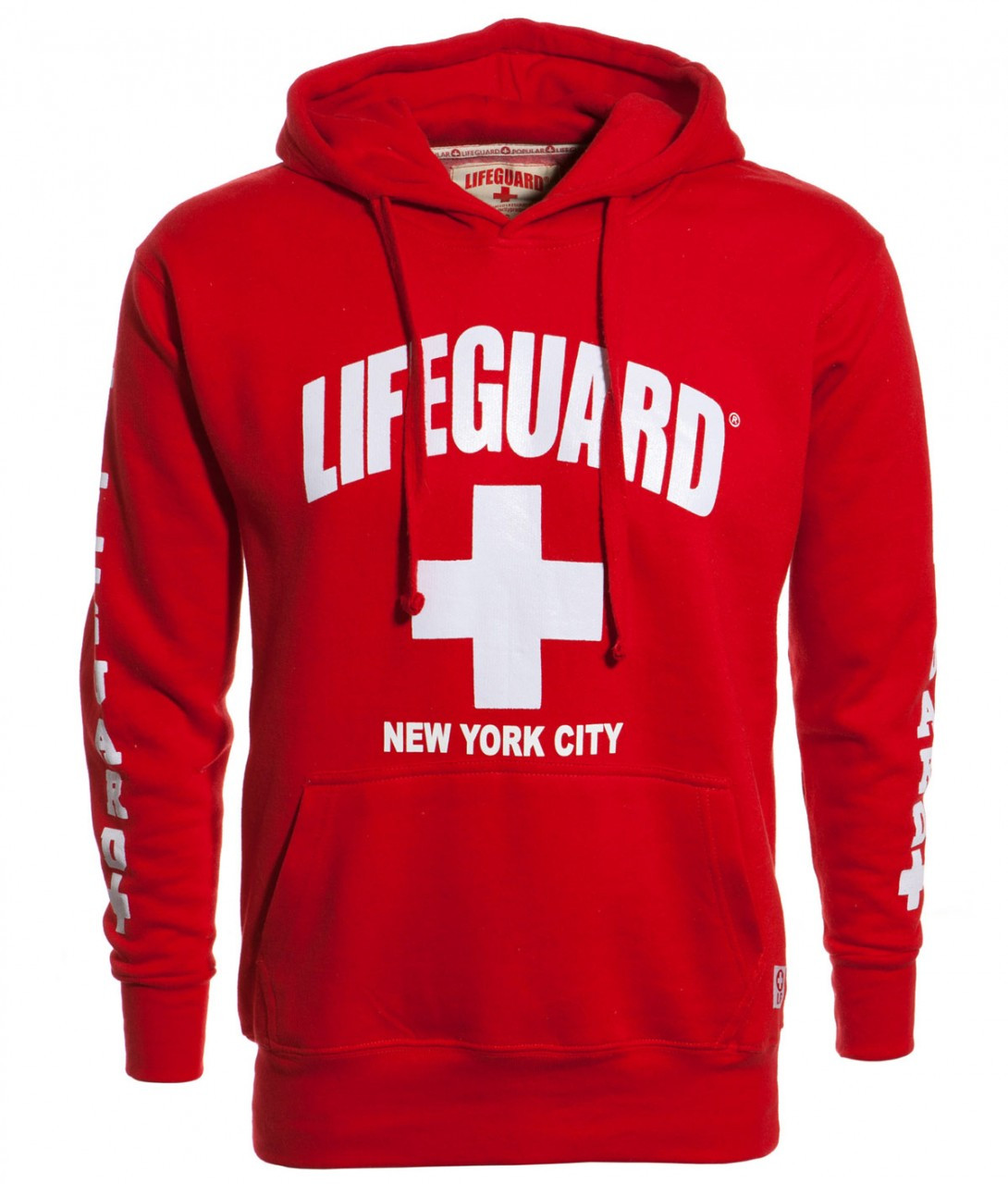 LIFEGUARD New York City Red Hoodie  supplier