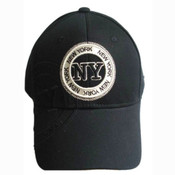 "Black New York ""Circle"" Cap"