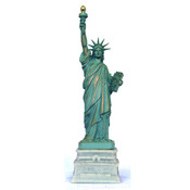 11 Inch Statue of Liberty w/ Short Base