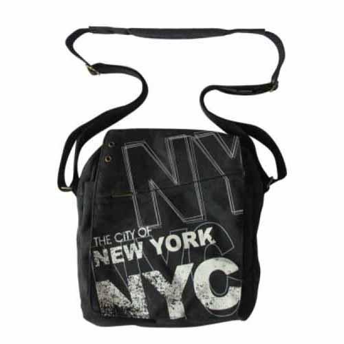 Robin-Ruth NYC Charcoal Messenger Bag photo