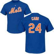 Robinson Cano T-Shirt - Royal NY Mets Adult T-Shirt