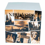 "NYC ""Sepia Photos"" Paper Cube"