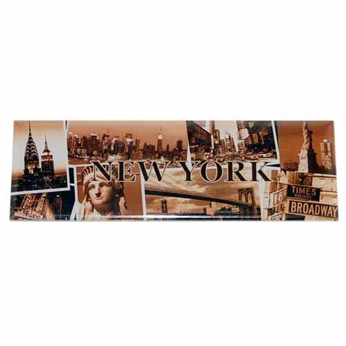 "NYC ""Sepia Photos"" Magnet photo"