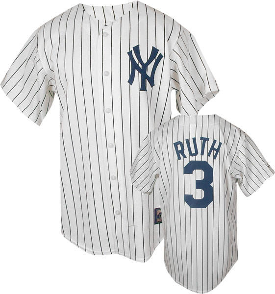 Babe Ruth Youth Jersey - with name photo