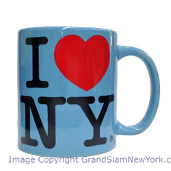 I Love NY Lt. Blue 11oz Mug Photo