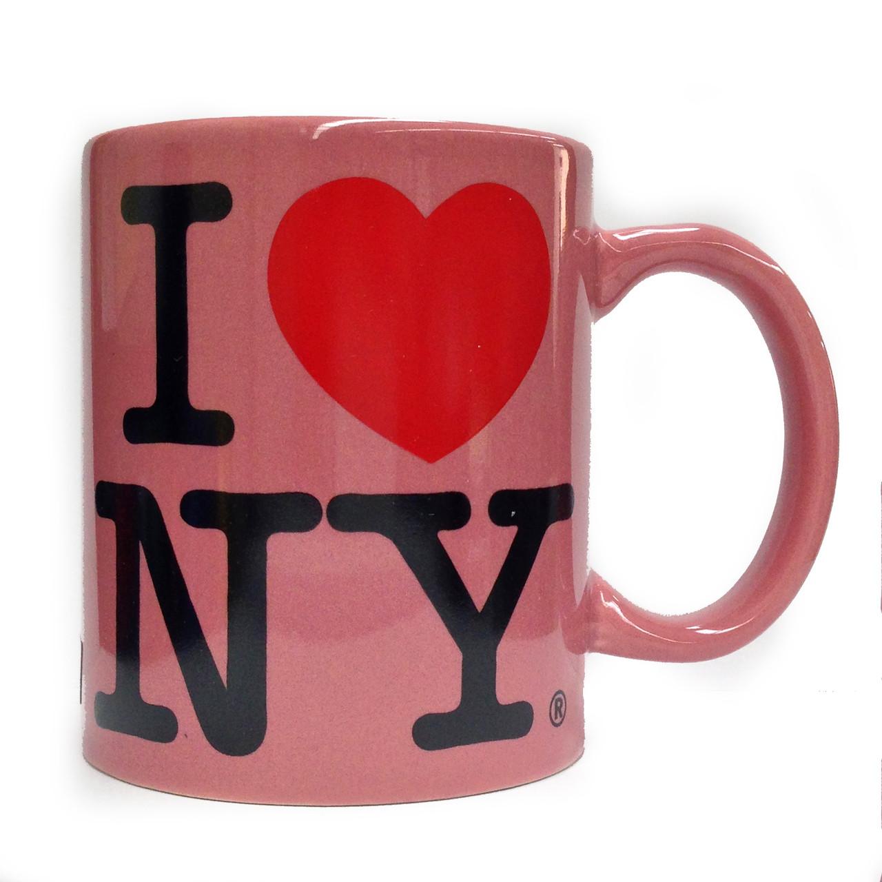 I Love NY Pink 11oz Mug photo
