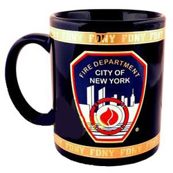 FDNY Navy with Gold 11oz Mug Photo