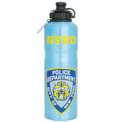 NYPD Silver Water Bottle