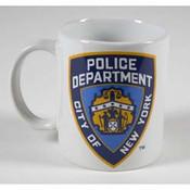 NYPD White 11 oz Mug