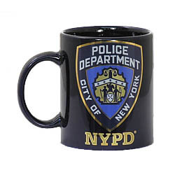 NYPD Navy 11 oz Mug Photo