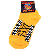 NYC Taxi Yellow Ankle Socks
