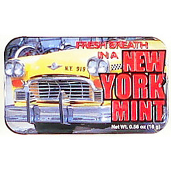 NYC Taxi Breath Mints Photo