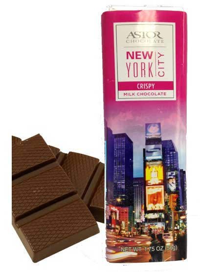 Times Square Crispy Milk Chocolate Bar photo