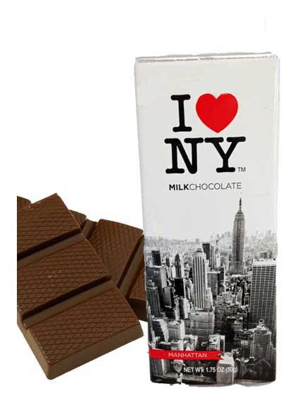 I Love NY Milk Chocolate Bar photo