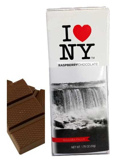 I Love NY Raspberry Dark Chocolate Bar - Niagara Falls photo