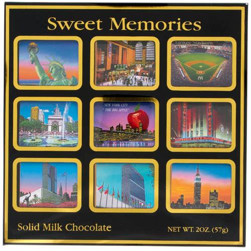 NYC Icons Milk Chocolate 9 pc Set photo