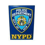 NYPD Navy Magnet