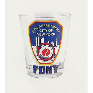 FDNY Clear Shotglass photo