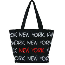 Robin-Ruth NY Black/White/Red Small Tote Bag Photo