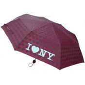 Red I Love NY Umbrella with Hearts