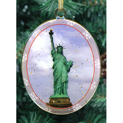 Statue of Liberty Double Sided Ornament Photo