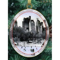 Central Park Double Sided Ornament Photo