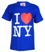 I Love NY Royal Blue Youth T-Shirt